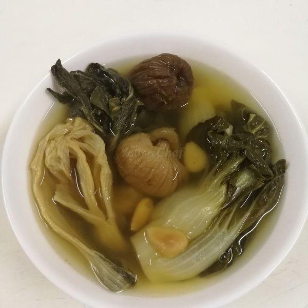 金銀菜豬腱湯