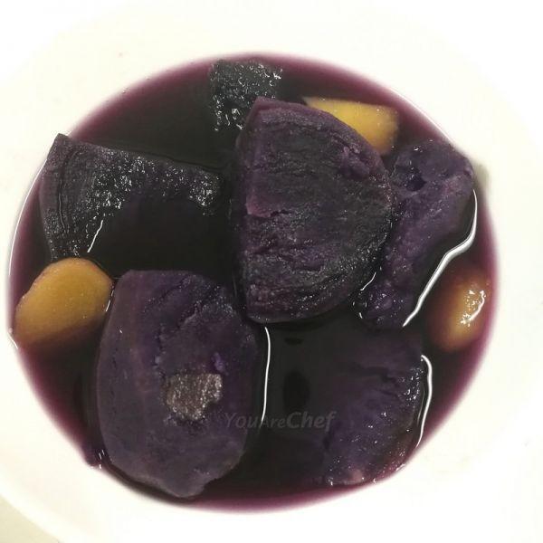 紫番薯 糖水