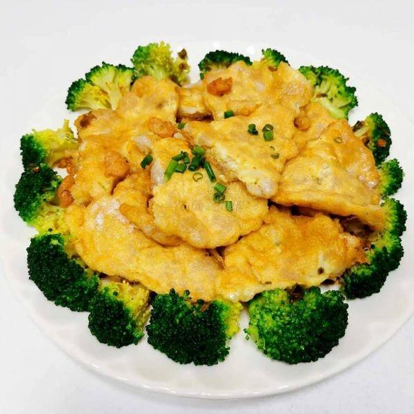 鯪魚肉煎蛋