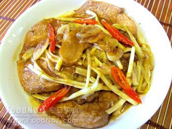 chive-pork