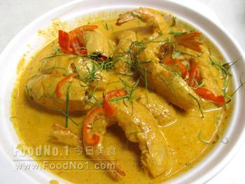 curry-shrimp
