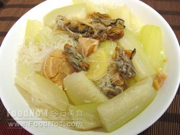 dried-scallop-zucchini-soup