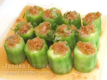 garlic-steamed-loofah