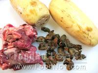 lotus-mussels-pork-ingredient