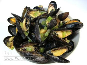 wine-fried-mussels