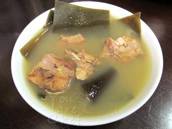 mung bean_seaweed_soup