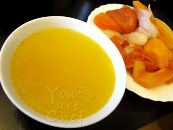 papaya nutrition_soup