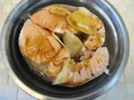 薑片蒸三文魚