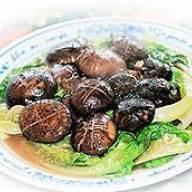 冬菰扒生菜