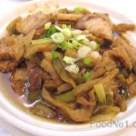 榨菜蒸肉片