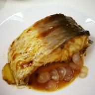 梅子醬蒸鯇魚腩