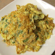 白飯魚煎蛋
