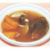青紅蘿蔔蜜棗煲瘦肉