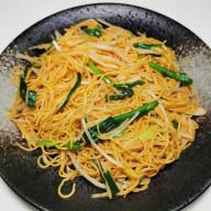 銀芽豉油王炒麵