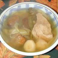 霸王花煲瘦肉湯 - (2)