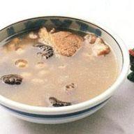 冬菇花生湯