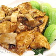 雙菇扒豆腐