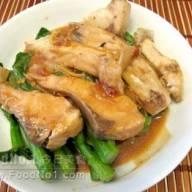 南乳魚腩炒菜芯苗