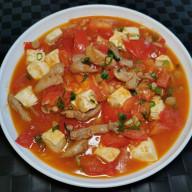 蕃茄豆腐肉粒