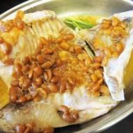 麵豉醬蒸鯇魚