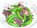 鮮百合蜜糖豆炒牛肉