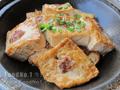 煎肉碎豆腐