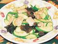 青瓜雲耳炒肉片