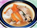 青紅蘿蔔章魚湯