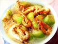 水瓜煮圍蝦