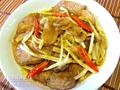 韭王煎豬扒