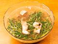 豆苗牛肉片湯