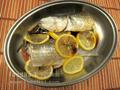 檸檬蒸烏頭魚